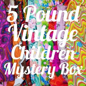 5 Pounds of Childrens Clothing Mystery Resell Box